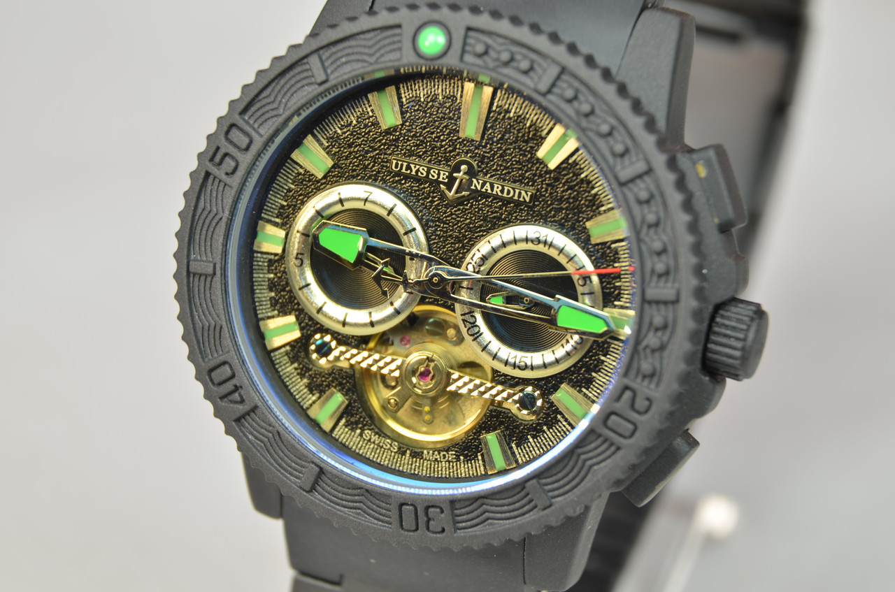 Мужские часы Ulysse Nardin Marine Mat механика