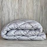 Одеяло на холлофайбере ОДА полуторного размера 155х210 Стеганное зимнее одеяло высокого качества, фото 3