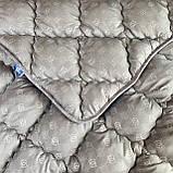 Одеяло на холлофайбере ОДА полуторного размера 155х210 Стеганное зимнее одеяло высокого качества, фото 4