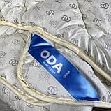 Ковдра на холлофайбері ОДА півторашнього розміру 155х210 Стьобана зимова ковдра високої якості, фото 4