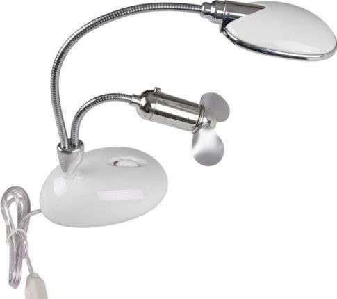 Лампа USB  13 LED + вентилятор  *1103