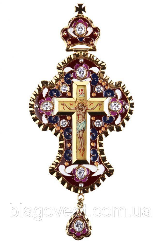 Хрест наперсный з філігранню