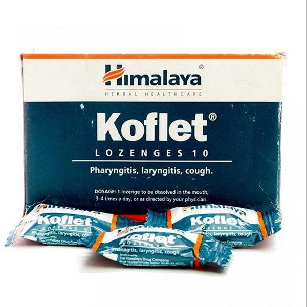 Леденцы от кашля Koflet Himalaya, 10 штук
