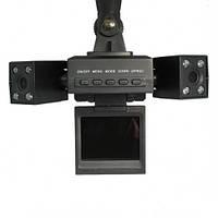 Видеорегистратор с 2 камерами Two Camera Car Dvr