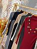 Плаття з високим горлом, трикотаж дрібна машинна в'язка. Розмір:42-44. Кольори різні. (0760), фото 8