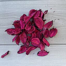 Лепестки розовые с хлопка  ароматизированные саше(100 грамм)