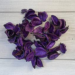 Лепестки фиолетовые  с хлопка ароматизированные саше(100 грамм)