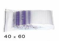 Пакет струна с замком Zip-Lock Гриппер 40*60