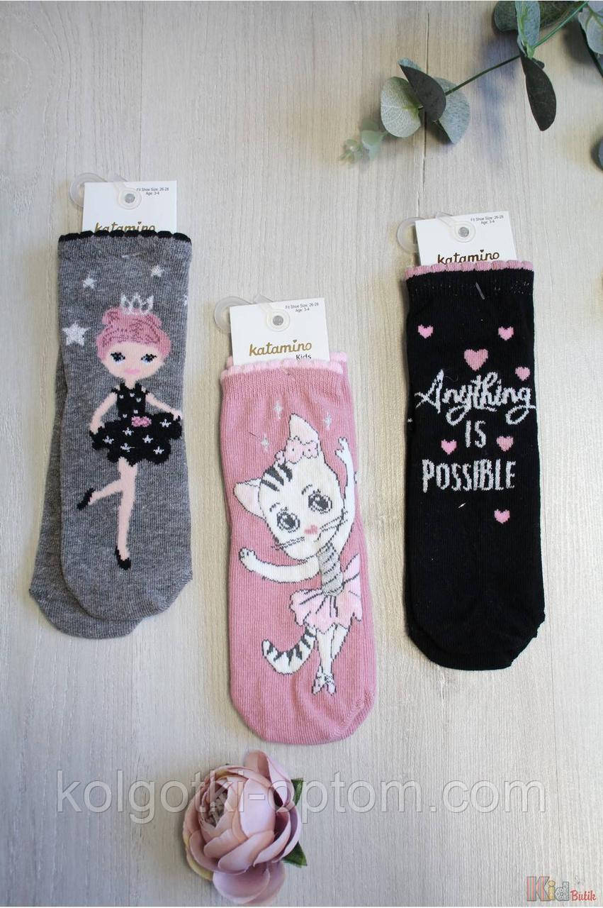"ОПТОМ Носки ""Ballet"" для девочки 3-4 лет (16 / 3-4 года)  Katamino 8680652419584"