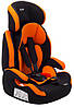 Автокрісло Bair Beta 1/2/3 (9-36 кг) DB2421 чорний - помаранчевий, фото 10