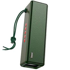 Беспроводная Bluetooth колонка с функцией TWS Hoco HC3  Dark Green