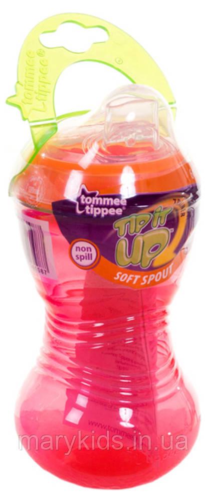 Поїлка Tommee Tippee Tip it UP від 6-ти міс. (300ml) блакитний, рожевий, салатовий
