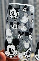Cиликоновый чехол Микки Маус для iphone 4/4s