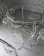 Кованная мебель в сад на террасу