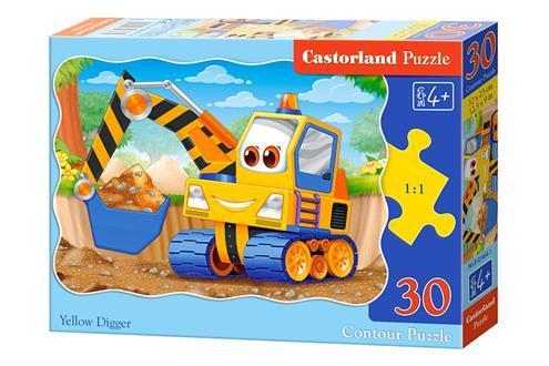 "Пазли 30 елементів ""Жовтий землекоп"", B~03464 | Castorland"