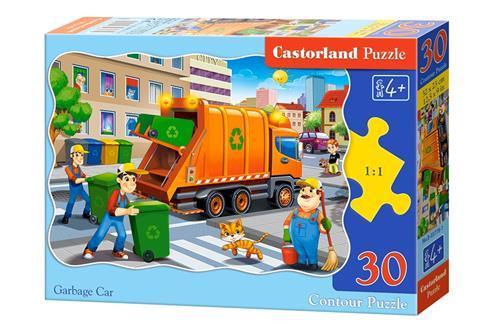 "Пазли 30 елементів ""Сміттєвоз"", B~03778   Castorland"