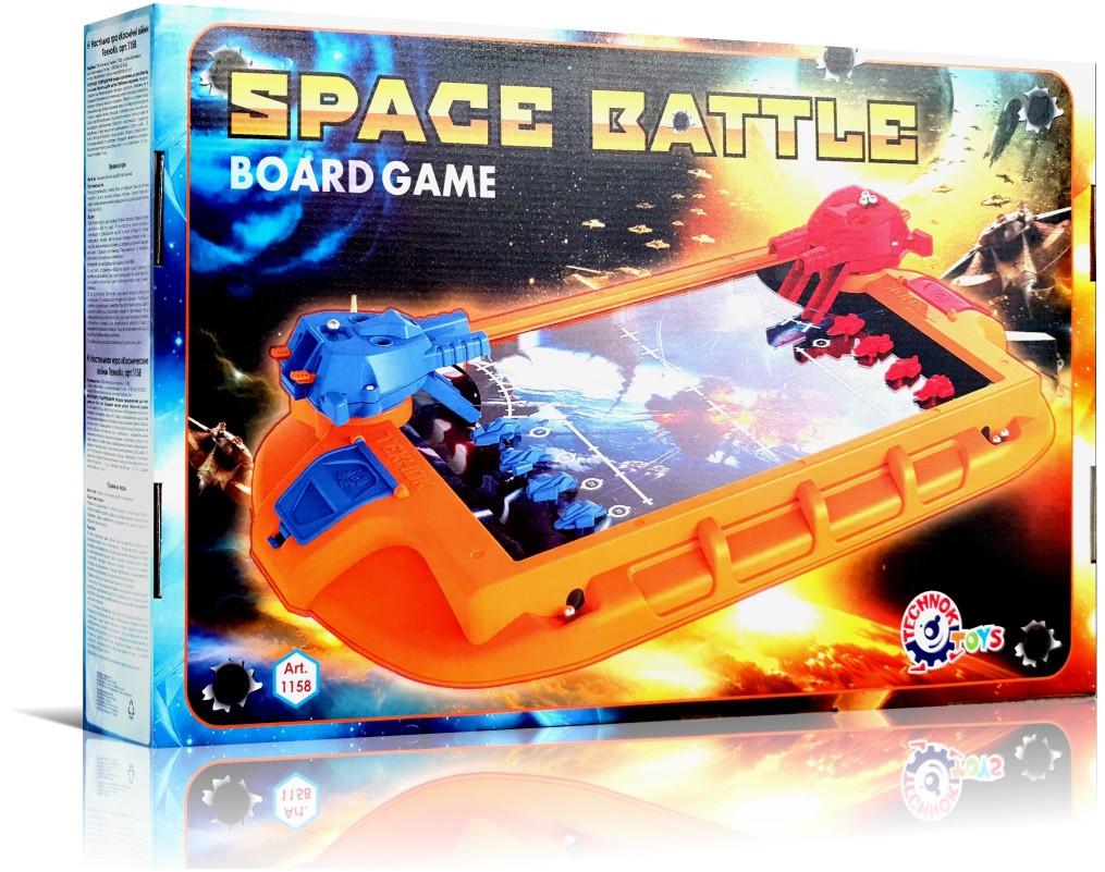 """""""Космічні війни"""". Настільна розважальна гра з вежами для стрільби, Технок"""