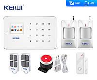 Комплект беспроводной gsm сигнализации эконом для 1-комнатной квартиры Kerui G18