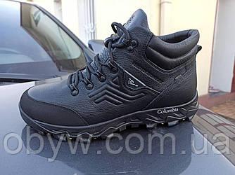 Зимові шкіряні термо спортивні черевики termoboots - 4045