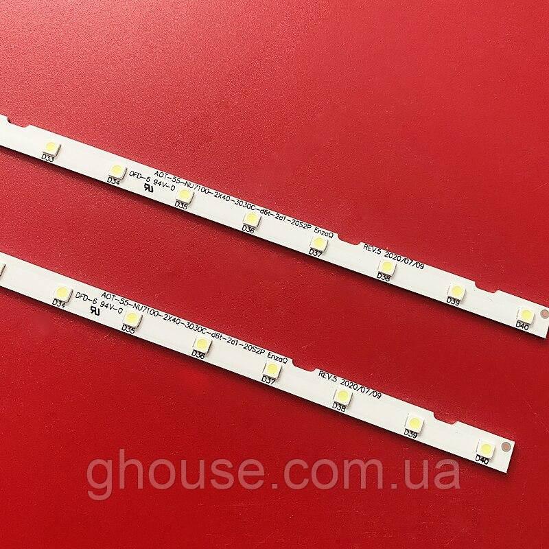 Samsung UE55NU7300U подсветка AOT_55_NU7100