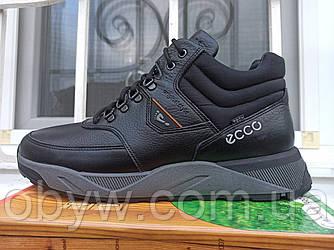 Зимові кросівки шкіряні кросівки на хутрі Krosboots