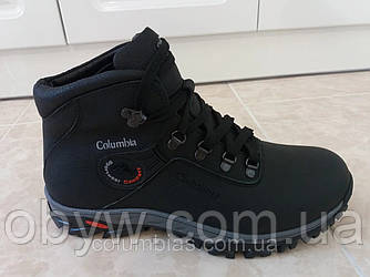 Черевики чоловічі зимові - boots shoes на хутрі з натуральної шкіри.