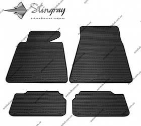 Модельні гумові килимки в салон для BMW 5 (E34) (1987-1996) комплект з 4 штук (Stingray)