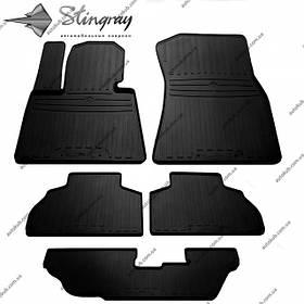 Модельні гумові килимки в салон для BMW X7 (G07) (2018-..) комплект з 5 штук (Stingray)
