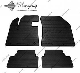 Модельні гумові килимки в салон для Citroen C5 AIRCROSS (2018-...) комплект з 4 штук (Stingray)