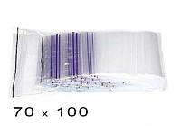 Пакет струна с замком Zip-Lock Гриппер 70*100