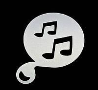 Трафареты для кофе для любителей музыки, 8 шт/комплект