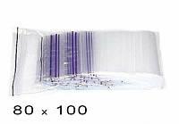 Пакет струна с замком Zip-Lock Гриппер 80*100