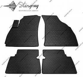 Модельні гумові килимки в салон для Hyundai Santa Fe I (SM) (2001-2006) комплект з 4 штук (Stingray)