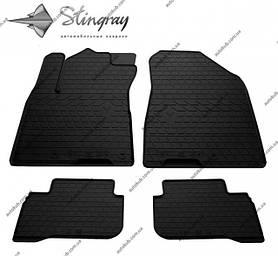 Модельні гумові килимки в салон для Hyundai IONIQ (2016-...) комплект з 4 штук (Stingray)