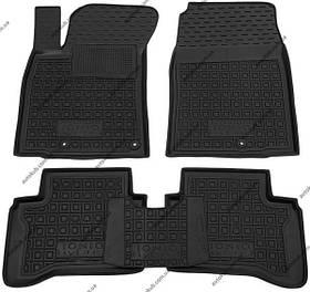 Автомобільні коврики в салон Hyundai IONIQ hybrid 2017- (Avto-Gumm)