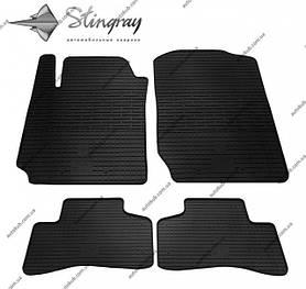 Модельні гумові килимки в салон для Suzuki Grand Vitara (JT) (2005-2017) комплект з 4 штук (Stingray)