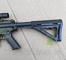 Игрушечная снайперская винтовка Cyma с лазерным прицелом, фонарем, съемным прикладом и глушителем (P.1158D), фото 3