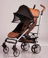 Солнцезащитный козырек на коляску двойной