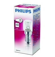 В наличии. Лампа для духовки Philips Appliance 15W E14 230-240V T22 CL