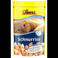 Gimpet Schnurries витамины для кошек  с таурином и лососем 50 г