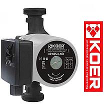 Циркуляционный насос для отопления Koer 25/60-180 мм + гайки + кабель с вилкой