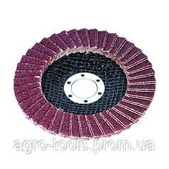 Круг пелюстковий торцевій Ø125мм зерно 120 SIGMA (9172121)