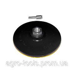Диск шліфувальний твердий Ø125мм з липучкою SIGMA (9181151)