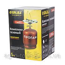 Комплект газовый кемпинг 5л SIGMA (2903211), фото 3