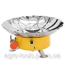 Плита газова з п'єзопідпалом і захистом від вітру SIGMA (2903511), фото 3