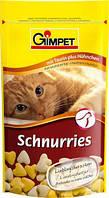 Gimpet Schnurries витамины для кошек  с таурином и курицей 50г.