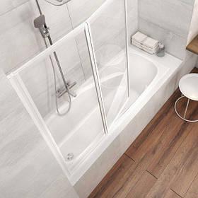 3 в 1  Акриловая прямоугольная ванна VANDA II 150х70 Ravak + Панель для ванны фронтальная + Ножки для ванны