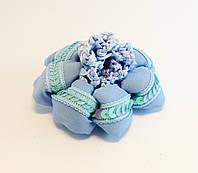 Сетка на гульку плетеная с пайетками-12 шт.- Ø 5,0 см. * Ø 10,0 см.