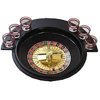 Настольная алкогольная игра  Пьяная Рулетка /  Drinking Roulette Set - для веселой компании