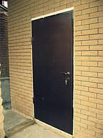 """Дверь входная железная """"Metal-Doors R-1"""" сварная металл(2мм)."""